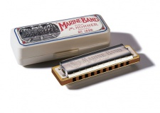 Hohner Marine Band Classic D - foukací harmonika