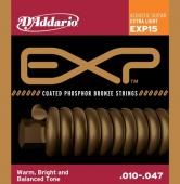 D'Addario EXP 15 - struny na akustickou kytaru 10/47