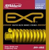 D'Addario EXP 13 - struny na akustickou kytaru 11/52