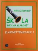 Škola hry na klarinet 1 - Zákostelecký Bedřich