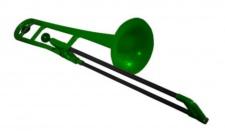 pBone green - plastový pozoun