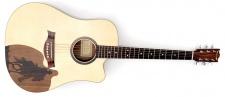 HoRa Wild West Guitar - country gitara