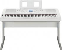 Yamaha DGX 650 WH - digitálne piano s doprovodmi