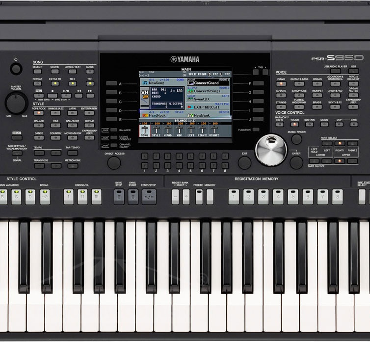 Yamaha psr s950 workstation hudobn for Yamaha psr s 950