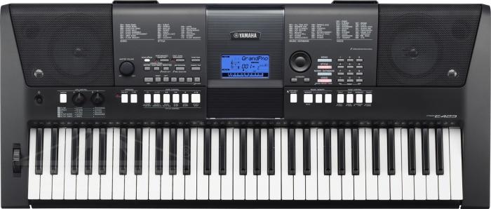 Yamaha PSR E 423 - klávesy PSRE423