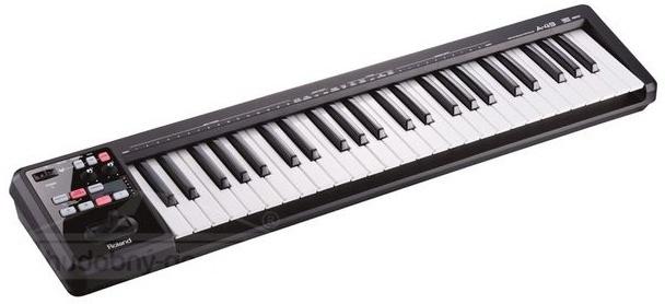 Roland A 49 - MIDI klaviatura černá
