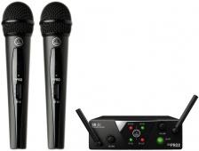 AKG WMS 40 MINI vocal dual - bezdrátový zpěvový set