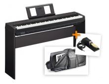Yamaha P45 SET 3FLQ - přenosné piano + dřevěný stojan + klavírní pedál + obal