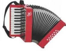 Weltmeister Mini 22/12/I klávesový akordeón červený