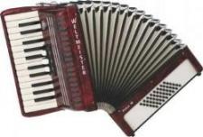 Weltmeister Model Perle 26/48/II/3 klávesový akordeon
