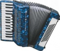 Weltmeister Model Kristall 30/60/III/5 klávesový akordeon