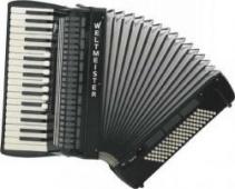 Weltmeister Model Topas 37/96/III/7/3 klávesový akordeon