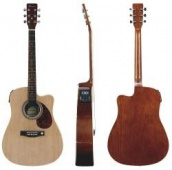 Tenson Dreadnought 320 - elektro-akustická gitara natural