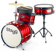 Stagg TIM JR 3/12B RD - junior sada bicích