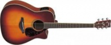 Yamaha FGX 720SC Brown Sunburst