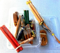 Woodklang Standard 20 + BOX - sada orfovských nástrojů