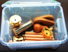Woodklang Mini 8 + BOX - sada orfovských nástrojů