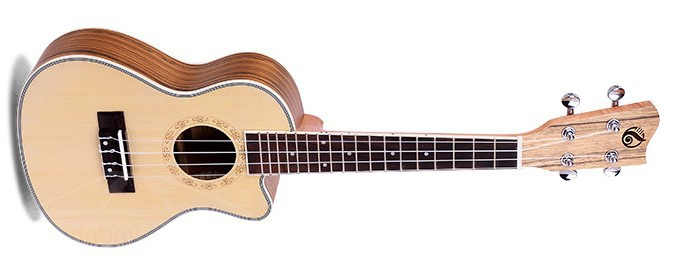 Grape GUC 450 C + EQ 300T - koncertní ukulele s elektronikou