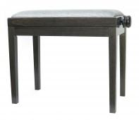 DISCACCIATI PS 27 dark walnut / šedý sedák - stolička beethoven
