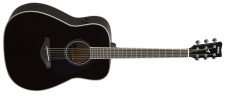 Yamaha FG TA Black - TransAcoustic kytara western