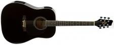 Stagg SA20 D BLK - westernová kytara