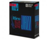 Plátek Rico Jazz Select pro altový saxofon - tvrdost 3 HARD UnFiled reeds