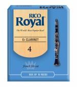 Plátek Rico Royal pro altový klarinet - tvrdost 4