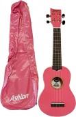 Ashton UKE 170 PK - sopránové ukulele