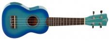 Truwer UK 220 21 B - sopránové ukulele modrý burst