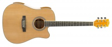 Truwer WG C 4165 - westernová kytara natural s výkrojem