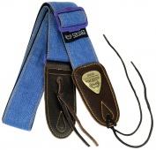 Truwer STP-1307 BL - kytarový popruh modrý