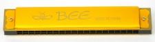 Truwer L 410 A GD - zlatá foukací harmonika v C