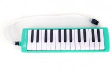 Truwer L 27 K GR - zelená melodika s pouzdrem