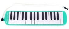 Truwer L 32 K GR - tyrkysová melodika s pouzdrem
