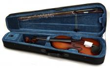 Truwer LV 012 W - celé housle s kufrem