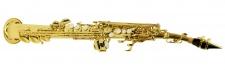 Truwer 6433 L - sopránový saxofon s pouzdrem