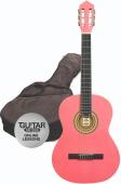 Ashton SPCG 12 TP Pack - klasická 1/2 kytara s obalem