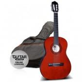Ashton SPCG 34 AM - klasická 3/4 kytara s obalem