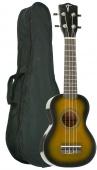 Truwer UK 220 21 OV - sopránové ukulele šedý burst