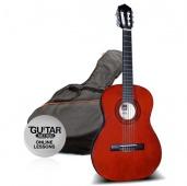 Ashton SPCG 44 AM - klasická kytara s obalem