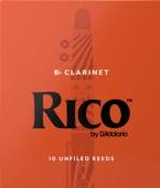 Plátek Rico pro klarinet – tvrdost 3,5