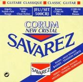 Savarez 500 CRJ New Cristal Corum - nylonové struny pro klasickou kytaru (trebles: normal tension; basses: high tension)