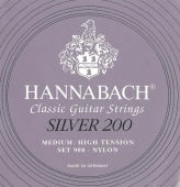 Hannabach 900, Silver 200 - nylonové struny pro klasickou kytaru (medium/low tension)
