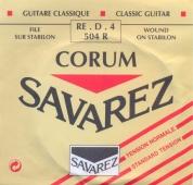 Savarez struna D 504 R Corum - nylonová struna pro klasickou kytaru (normal tension)