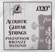 "Framus 020"" - kovová struna pro akustickou kytaru"