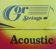 Gor Acoustic 6B12-92 Br 12str. - kovové struny pro akustickou kytaru (medium) 12/52