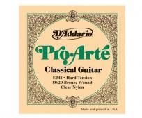 D'Addario EJ 48 Pro Arté - nylonové struny pro klasickou kytaru (hard tension)