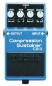 Boss CS 3 - kytarový efekt compresor, sustainer