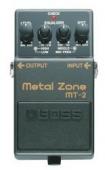 Boss MT 2 - kytarový efekt distortion (metal zone)