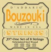 D'Addario J 97 Bouzouki - kovové struny pro řecké bouzouki
